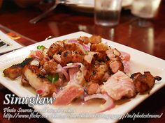 Sinuglaw is a combination of fish ceviche and grilled pork, mixed together to make a wonderful tasty dish. This can be an appetizer, pulutan, or main dish. Ceviche Recipe, Grilled Pork, Pinoy, Pork Chops, Tasty Dishes, Fish Recipes, Main Dishes, Appetizers, Cooking Recipes