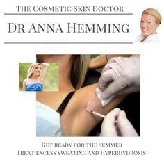 Injectable treatment of hyperhidrosis using botulinum toxin not only works but lasts 5-7 months. Now is the perfect time of year to start a treatment to avoid sweat patches. It's also great planning as top up in early Autumn will last for the Christmas party season. Never to early to think about Christmas! #DrAnnaHemming #aesthetics #beauty #beautyblogger #hyperhidrosis #sweating #excesssweating #party #wedding #men #botox #london #richmond #teddington…