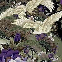 A large selection of Kona Bay Emperor's Collection Asian quilt fabric to choose from. Japanese Patterns, Japanese Fabric, Japanese Art, Wallpaper Gallery, Print Wallpaper, Brush Strokes Painting, Asian Quilts, Asian Fabric, Fabric Outlet