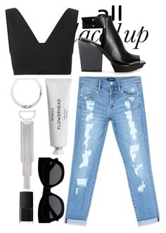 """All Laced Up for Spring with bebe: Contest Entry"" by laura-gordon ❤ liked on Polyvore featuring Bebe, T By Alexander Wang, 3.1 Phillip Lim, Byredo, Karen Walker, NARS Cosmetics and alllacedup"