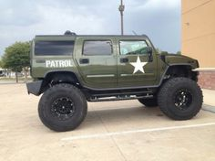 2003 Hummer H2 Base Sport Utility ARMY edition extreme lifted