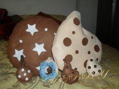 cuscini portachiavi in feltro