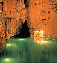 Mammoth Cave National Park, Kentucky.  You gotta see this place.