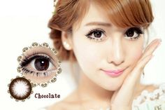 Best Selling Natural Look Soft Cosmestic Contact Lenses OL Style Chocolate