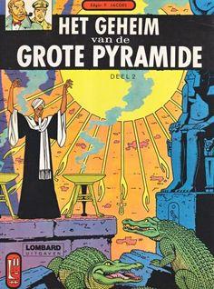 Blake en Mortimer 5 Het geheim van de grote pyramide, Deel 2 - stripinfo.be