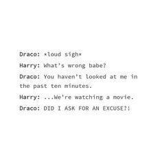 Screw the movie, look at draco, harry  #drarry