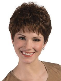 ... Spiky Hairstyles For Women Over 60 Aspen Wigs Amie Wig Short to