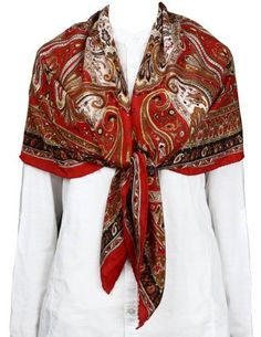 f8b77bbb3a9ff Hand Painted Silk Scarf Square Women Accessories Indian Clothes  Amazon.co. uk  Clothing