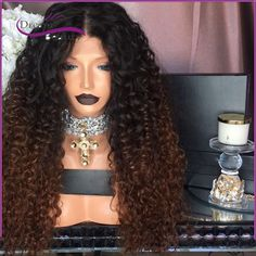 90.00$ Buy here - http://aligjg.worldwells.pw/go.php?t=32776961573 - 7A Glueless Full Lace Human Hair Wigs Brazilian Kinky Curly Front Lace Wigs Lace Front Human Hair Wigs For Black Women hot Wigs