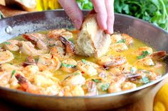 Succulent Shrimp Scampi by howtofeedalloon #Shrimp_Scampi
