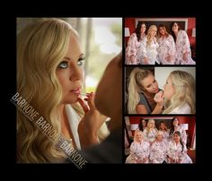 Makeup was applied by Makeup By Roxy.  Wedding Photo was taken by Bar None Photography