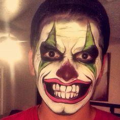 Creepy Clown Face Paint Ideas by Linda Watson Scary Face Paint, Scary Clown Face, Clown Face Paint, Clown Faces, Scary Faces, Scary Clowns, Cute Clown Makeup, Scary Makeup, Zombie Makeup