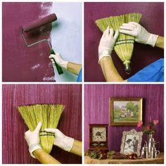 Si estás pensando en cambiar el color de tus paredes, esta idea es perfecta para darle un toque diferente...http://bit.ly/1aH3nmj #decoracion   #decoraciondeinteriores   #1001consejos G+