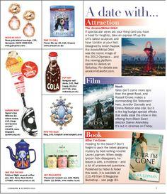 S Magazine March Filigree Blue Ring www.konplott.co.uk