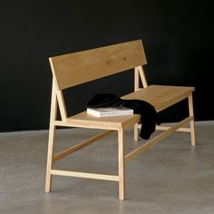 N3 Oak Bench | ETHNICRAFT | DomésticoShop