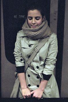 I really like coats like this! Topped with a handmade scarf... you're good to go!
