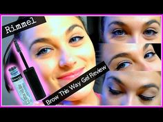 Rimmel Brow This Way Gel Review + Demo ... Enjoy! Please Subscribe!