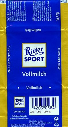 Ritter Sprot Vollmilch