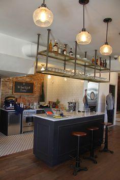 Liquor Cabinet, Kitchen, Table, Furniture, Home Decor, Cuisine, Homemade Home Decor, Home Kitchens, Tables