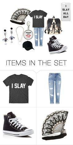 """Slay"" by akariquoet on Polyvore featuring art"
