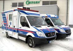 ambulance vehicles | Tail view of the vehicle:
