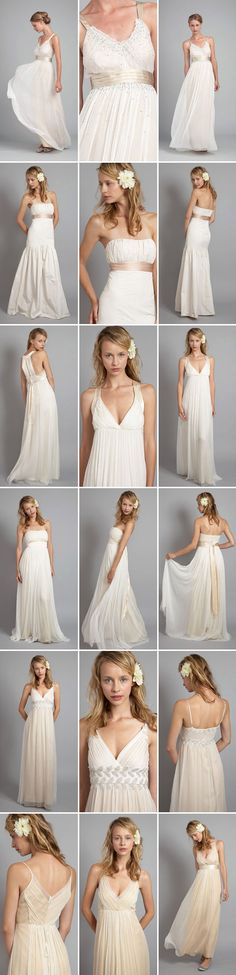 alternative and affordable wedding dresses from Saja Weddings