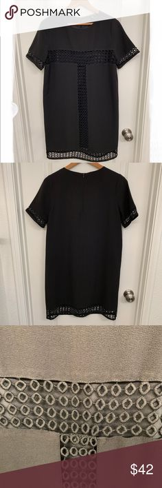 379cf4163fa2 Felicity and Coco Black Tunic Dress great condition! size S black dress  with cutout detail