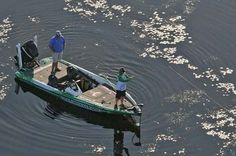 J Todd Tucker fishes on the St. Johns River in Palatka, Fla., March 15-18, 2012. He led the tournament the first day.