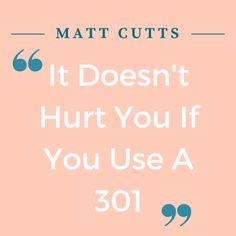 matt cutts 301