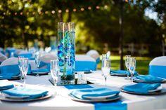 Quinceanera Blue Centerpieces And Blue Quinceanera Dresses