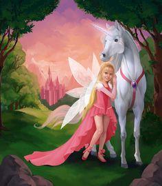 Fantasy Art Magic Dreams Imagination Fairy Tales 38 Ideas For 2019 Unicorn And Fairies, Unicorn Fantasy, Real Unicorn, Unicorn Horse, Unicorn Art, Magical Unicorn, Fantasy Art, Unicorn Pictures, Fairy Pictures