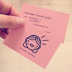 So cute* My own personal business card. Logofication of me! Yeah!