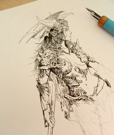 Reference and inspiration in 2019 art sketches, character design, illustrat Comic Kunst, Comic Art, Art And Illustration, Fantasy Kunst, Fantasy Art, Art Sketches, Art Drawings, Animation 3d, Art Therapy Projects