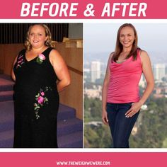 Before & After - Weight Loss Story | The Weigh We Were - Amanda learned to enjoy exercise and lost 135 pounds. Read her story!! #weightloss #theweighwewere