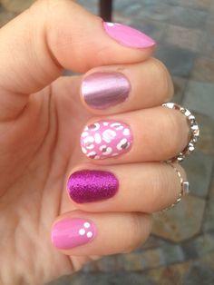 Pink Nail Art!