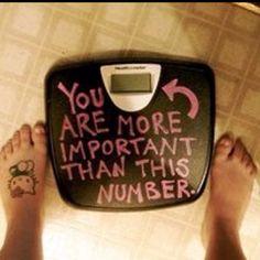 Stop eating disorders