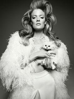 Constance Jablonski for Vogue Italia | Fashion in Motion
