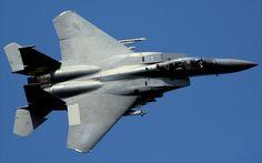 United States Air Force Boeing F15E Strike Eagle - 91-0326 (48th FW) RAF Lakenheath Topside