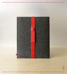 iPad case for your iPad iPad sleeve FUSION german wool felt. $59.00, via Etsy.