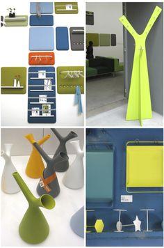 4 oggetti in lamiera colorata www.youtool.it