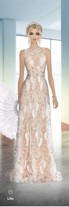 Covet Fashion, Women's Fashion, Divas, Formal Dresses, Chic, My Style, Anime, Fashion Drawings, Clothing Templates