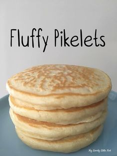 Yummy Pikelets - My Lovely Little Nest Bake Off Recipes, Baking Recipes, Cake Recipes, Snack Recipes, Dessert Recipes, Mini Pie Recipes, Avocado Recipes, Köstliche Desserts, Delicious Desserts