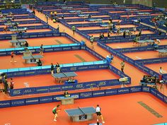 Table Tennis, the most organized sport in the world. #tabletennis #pingpong