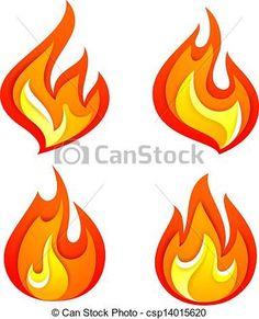 Resultado de imagen para llamas de fuego para recortar