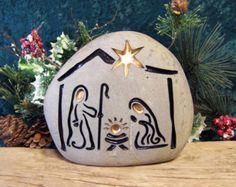 Grabado de Natividad Natividad coleccionable único por SandStudios