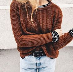 I kinda like the striped shirt under the sweater but idk how well it would look on me
