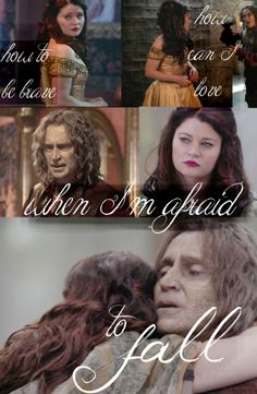 """RumBelle """"A Thousand Years"""" - part 2 'How to be brave. How can I love when I'm afraid to fall?'"""
