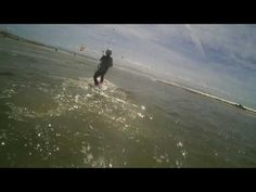 BORN TO KITE TARIFA Lotte at the 3rd dy of lesson Water start ¡¡¡