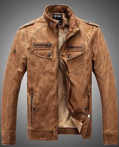 Camel Real Sheep Leather Contemporany Jacket