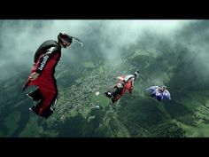▶ The Perfect Flight - Official Teaser - YouTube Video  BASE Jumping   extreme sports   action sports   adventure sports   aerial sports   bucket list   YouTube Video
